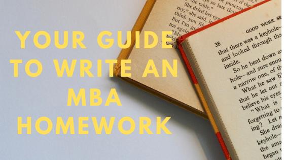 Mba-homework-help